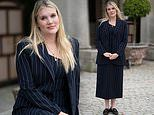 Emerald Fennell cuts an elegant figure as she attends the Cliveden Literary Festival