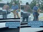 Moment Florida college student gives shoes and clothes to homeless man, leading to viral TikTok fame