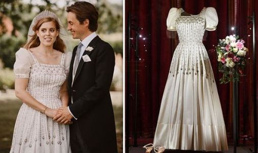 Princess Beatrice wedding dress: Best pictures as Bea's gorgeous gown goes on display