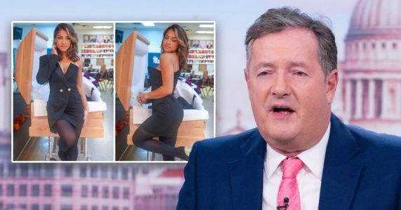 Piers Morgan slams 'repellently distasteful' influencer posing next to dead dad's body 'for likes'