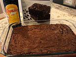 How to bake the perfect brownies: Why you should swap water with KAHLUA
