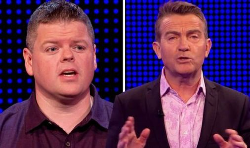 Bradley Walsh halts gameshow to give The Chase player extra money for 'wrong' answer