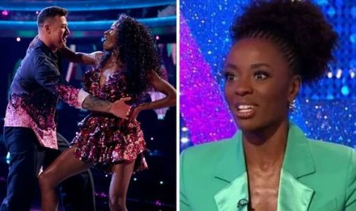 AJ Odudu fears she'll be 'kicked off' Strictly over health 'It's scary'