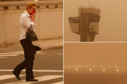 Gran Canaria sandstorm causes travel chaos with flights cancelled and airports closed