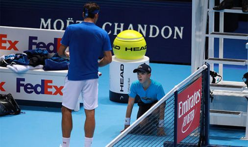 Roger Federer reveals what he said to ball boy during controversial Alexander Zverev loss