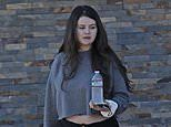 Selena Gomez bares midriff atCactus Taqueria in LA. after getting a helix piercing with pals