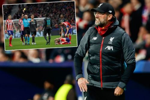 Jurgen Klopp accuses Atletico Madrid of trying to get Sadio Mane sent off