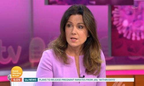 Susanna Reid causes concern among viewers on Good Morning Britain - watch