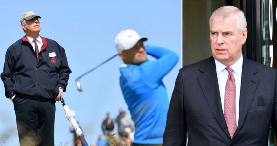 Prince Andrew's private jet to golf tournament cost taxpayers £16,000