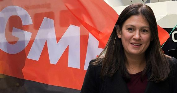 Lisa Nandy receives Labour leadership boost after getting backing of GMB union
