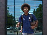 Chelsea train as they make last preparations for FA Cup final showdown with Man United