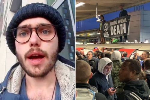 Extinction Rebellion activist describes moment he was 'beaten by Tube mob'