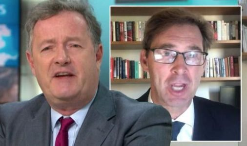 Piers Morgan and Tory MP clash as furious Ellwood blasts at GMB host: 'You bumped me!'