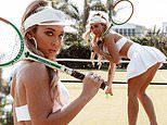 Tammy Hembrow gives fans a lesson in how NOT to play tennis with raunchy photoshoot