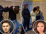 PICTURED: Moment Canadian influencer and her boyfriend are arrested in Hungary for murder