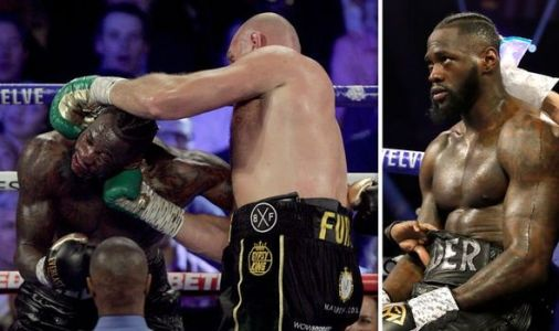 Deontay Wilder rushed to hospital following bloody defeat to Tyson Fury