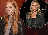 Following in Kate's footsteps! Moss' daughter Lila Grace, 17, mingles with stars at Selfridges bash