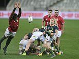 Sportsmail's form guide for the Lions' first Test against South Africa on Saturday