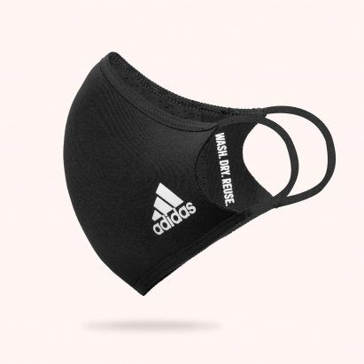 """This week, Adidas released a face mask and designers were accused of """"coronagrifting"""""""
