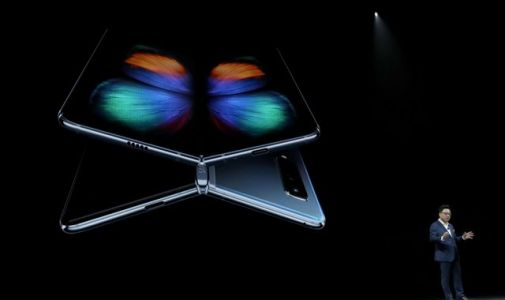 Samsung Galaxy Fold launch events postponed after review devices 'break'