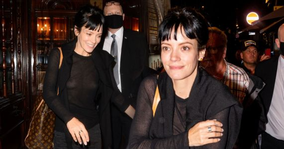 Lily Allen can't stop smiling as she leaves theatre after making West End debut in 2:22 A Ghost Story