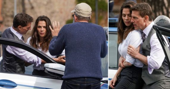 Tom Cruise and Hayley Atwell film Mission: Impossible on streets of Rome