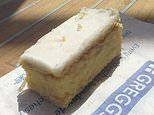 Greggs halves the size of its custard slices but keeps the price at £1