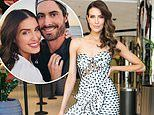 Erin Holland flaunts her pins in a chic frock for her bridal shower atCucina Porto at The Star