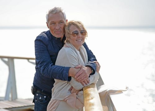 Martin Kemp admits 'missing romance' with wife Shirlie during lockdown as they enjoy loved-up holiday in France