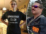 Preachers daughter 15 kicked out class for wearing 'homosexuality is a sin' t-shirt sues school