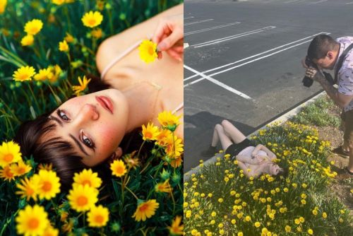 Stunning images that reveal how Instagrammers fake their own reality