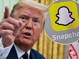 Snapchat says it will NOT promote Donald Trump's account on its Discover channel