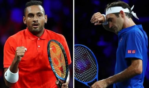 'I saw a really hot chick' - Nick Kyrgios jokes about distraction against Roger Federer