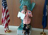 Florida woman becomes US citizen at 103-YEARS-OLD after entering the country when she was 88