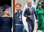 Prince Harry is 'tormented by his fractured family ties' and Meghan Markle is 'struggling to cope'