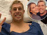 Surfing legend Mick Fanning reveals he's recovering well after having knee surgery