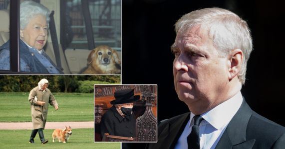Prince Andrew 'gave Queen two new corgis' to comfort her over Philip