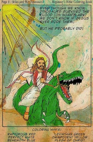Jesus and the Dinosaurs, and the gullibility of secularists