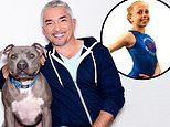 Cesar Millan denies his pit bull attacked gymnast and fatally 'mauled' one of Queen Latifah's dogs