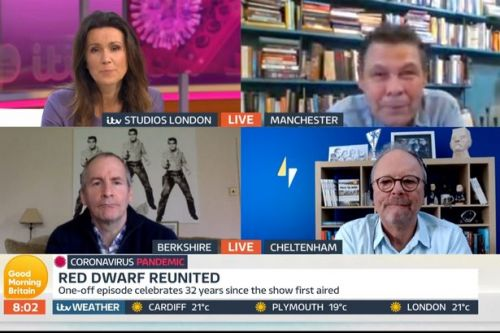Good Morning Britain segment in chaos as guest turns up at end of interview