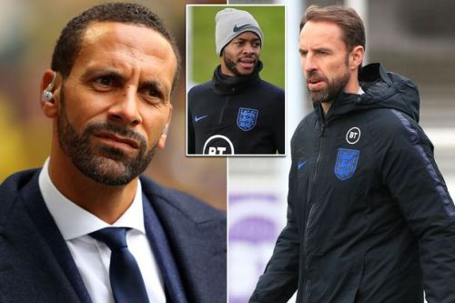 Raheem Sterling 'hung out to dry' by England boss Gareth Southgate declares Rio Ferdinand