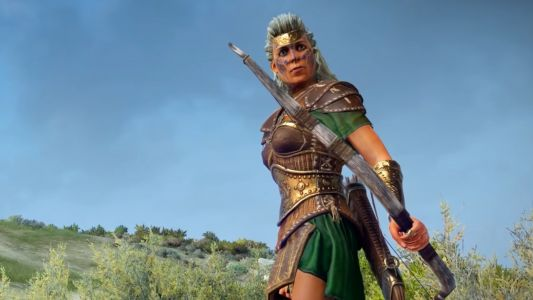 Here's our first look at Total War Saga: Troy's Amazons faction