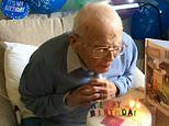 War veteran who survived Spanish flu epidemic celebrates 107th birthday at care home
