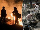Firefighters continue to battle furious Holy Fire raging in South California