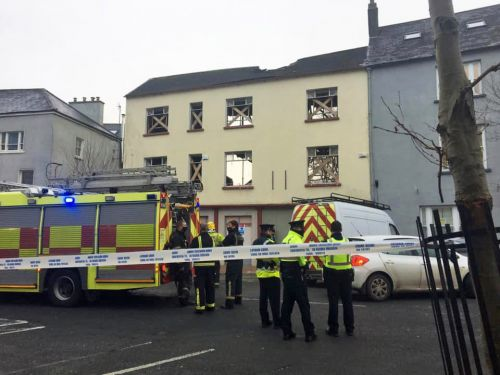 Man dies and five others injured after building collapses in Ireland