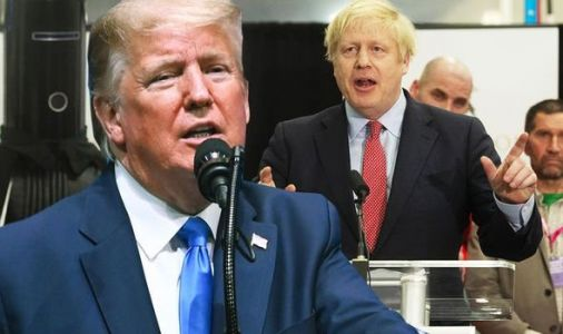 Donald Trump promises Boris Johnson 'MASSIVE' Brexit trade deal - 'Celebrate, Boris!'