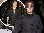 Liam Gallagher enjoys dinner with fiancée Debbie after his son Gene is ordered to stand trial