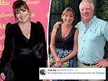 Lorraine Kelly's husband insists she puts on a 'booby dress' when they go out