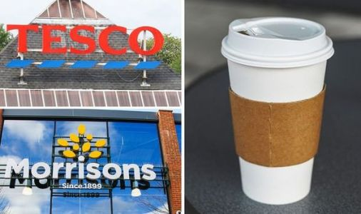 Tesco and Morrisons cafes cut price of food and drink by 50 percent - full menu included