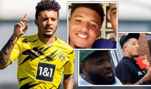 Jadon Sancho spotted back in England after Dortmund training ahead of Man Utd transfer